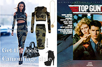 Get the look:Camouflage style