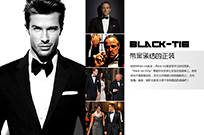 Black-tie:带黑领结的正装
