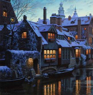 邂逅 欧洲迷人的童话小镇