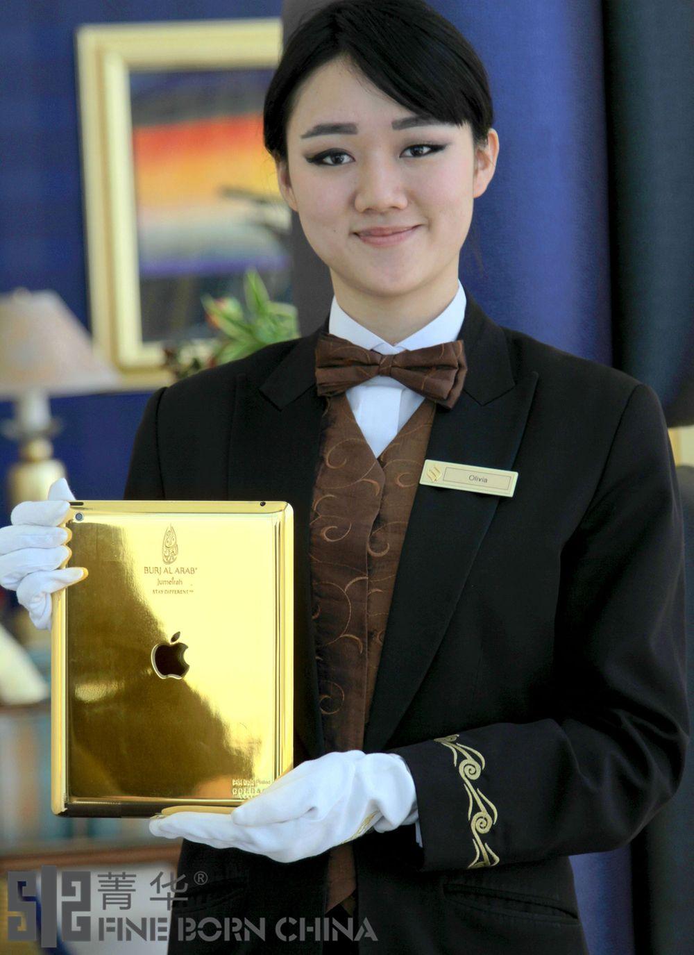 宾客尊享   卓美亚帆船酒店推出专供24K金iPad