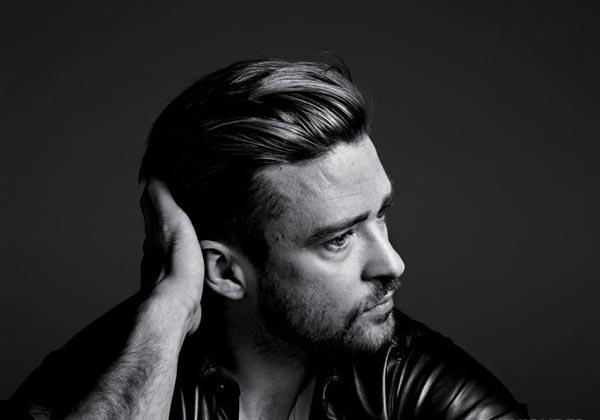 """性感大叔 Justin Timberlake 的""""时尚黑白面""""_FineBornChina时尚生活"""
