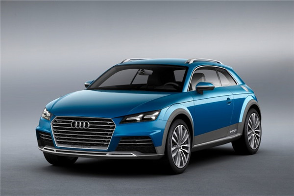 奥迪新款车allroad shooting brake concept亮相底特律